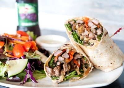 Pepper Steak Wrap