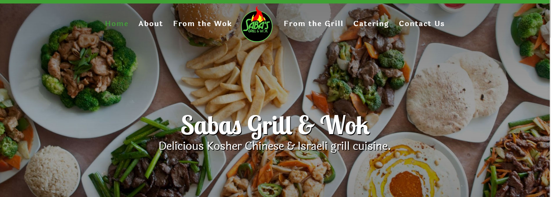 Home Saba S Grill And Wok Restaurant